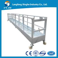 Steel suspended working platform / hanging scaffolding system / building cleaning lift