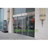 Automatic sliding door with aluminum frame