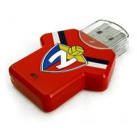 China Football T-shirt Plastic USB Flash Drive, 16GB New Style Memory Stick on sale