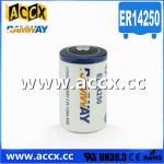 Buy cheap memory back up battery ER14250H 3.6V 1.2Ah product