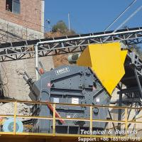 Buy cheap Automatic Impact Rock Crusher Intelligent Design With Large Feed Opening product