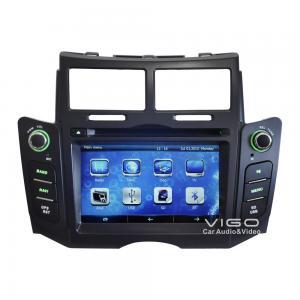 Buy cheap Toyota Yaris Headunit GPS Navigation Sat Nav Auto Radio DVD Player VTY8017 product