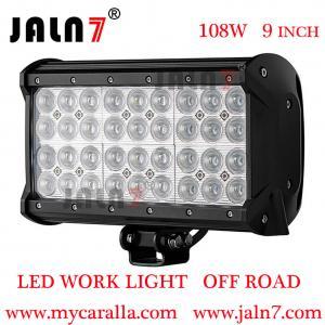 China LED work light LED Light Bar 108W 9 Inch 4 Row Car LED light Auto Light JALN7 wholesale