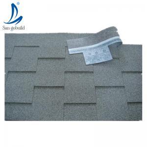 Buy cheap High quality fiberglass color sand asphalt shingles, prefab Villa flat asphalt roofing shingles product