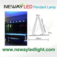 Buy cheap Remote Control Direct Indirect Linear Pendant Lighting 3W COB LED product