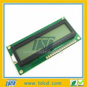 Buy cheap 1602のTSD lcd/YG/Blue色のlcmの表示モジュール16*2の特性のstnのタイプ product
