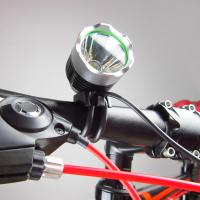 China Eco - friendly Electricity Free Dynamo Bicycle Light 5V 8W / Dynamo Bike Light Set wholesale