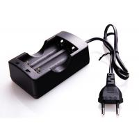 Buy cheap Constant Current Two Bay Charger , 3.7 V Digital Li Ion 18650 Battery Charger product