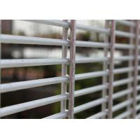 Buy cheap Galvanized Double Wire Fencing / Twin Mesh Panel Fencing Systems (ISO9001: 2008), Powder Coated product