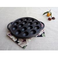 China Octopus Small Balls Shrimp Egg Mold Meatballs Iron Pan Grill Cast Iron Barbecue Tray Household on sale