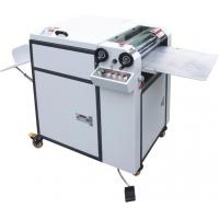 Single Handle Manual 480 UV Coating Machine With UV Curing Or IR Drying Device