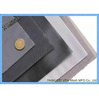 Buy cheap SUS 304 Fly Screen Mesh , Stainless Steel Insect Screen Mesh Roll Nature Color product