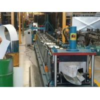 China Water Gutter Cold Metal Roll Forming Machines , Three Phases Roll Former Machine on sale