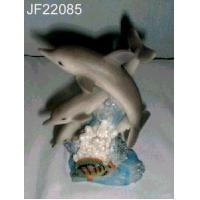 China Dolphin, figurine, statue, animal, polyresin on sale