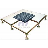 Buy cheap Anti - Static HPL Computer Room Raised Floor Systems Loading Capacity High product