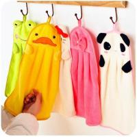 Buy cheap Cute Animal Microfiber Kids Children Cartoon Absorbent Hand Dry Towel Lovely Hand Towel product