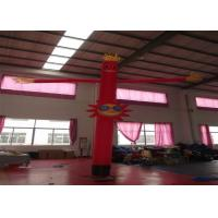 Buy cheap Nylon Advertising Inflatable Air Dancer Man Inflatable sky man Advertising Balloons for commercial activity product