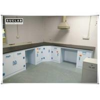Buy cheap Corrosion Resistant PP Structure Chemical Laboratory Furniture With Phenolic Resin Countertop product