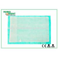 Buy cheap Customized Disposable Bed Sheets Nonwoven Fabric Pillow Cover , CE / ISO Approved product