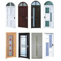 China PVC Double Glazed Front Doors on sale