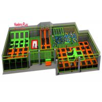 Buy cheap Large Size Trampoline Park Equipment , Professional Trampoline Equipment PVC Material product