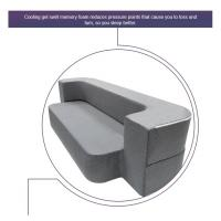 China Grey Modern Foam Pull Out Sofa Bed Comfortable Relax Queen Size / Twin Size on sale