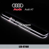 China Audi A7 dynamic moving LED lights Door sill Plate threthold Trim Panel wholesale