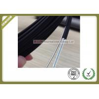 Buy cheap Black Color FTTH Fiber Optic Cable Non - Metal Strength Member With LSZH Outer Jacket from wholesalers
