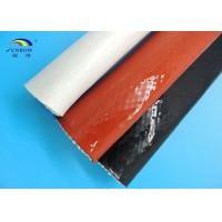 Steel Plant Use Braided Fiberglass Sleeve With Silicone