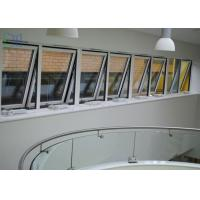 Quality Powder Coating Metal Awning Windows , Top Hung Roof Window AS2047 Standard for sale