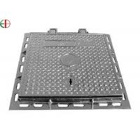 Buy cheap Cast Iron Sewer Galvanized Steel Manhole Covers EN124 C250 Sanitary Sewer Manhole Cover EB13009 product