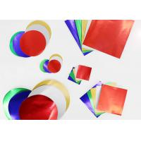 Buy cheap Gummed Paper Combined With Squares And Circles, Pack of 150, Multi Colours product