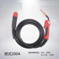 Buy cheap 15AK CO2 gas welding torch with handle , Air cooled gas MIG MAG torch product