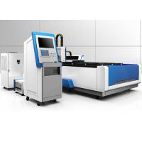 Buy cheap 500W Fiber CNC Laser Cutting Machine 1500 X 3000mm With Racus IPG Laser Source product