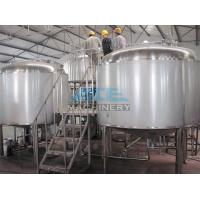 Buy cheap Red Copper Tank Used Brewery Equipment For Sale Brewery Machine With Ce,Craft Beer Making System product