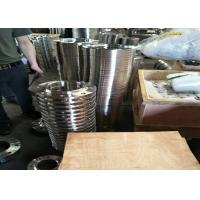Buy cheap 306 / 304 Stee Grade Stainless Steel Flanges , Orifice Steel Blind Flange Cold Drawing product