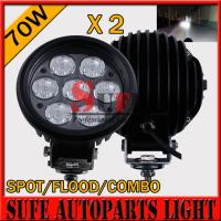 China 6'' 70w LED Driving Light 10-30v Offroad Light 4x4 tractor Driving Light For SUV ATV Light on sale