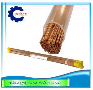 Buy cheap El tubo del electrodo de EDM/los agujeros del doble de los tubos de cobre 0.9x400mmL para EDM perfora la máquina product