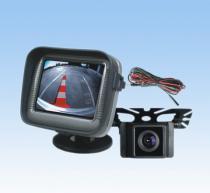 2.5〞TFT LCDモニターおよび貼り付け用のカメラが付いている車の背面図システム