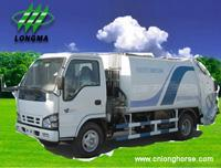 Buy cheap Garbage Truck ,  Garbage Container Truck,  Garbage Collector,  Garbage Compactor,  Refuse Compactor www.cnlonghorse.com product