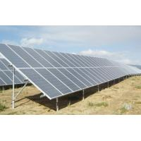 Buy cheap Pole / Roof / Fixed solar panel mounting brackets , ground mounting systems product