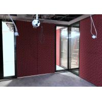 Quality Top Hung Movable Glass Wall With Top&bottom Retractable Seal for sale
