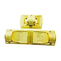 Buy cheap Golden Color Casket Hardware C008 / Corner Coffin Accessories With Steel Bar product