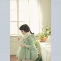 China free sample fashion design baby girl party dresses angel dresses for kids korean wholesale clothing on sale