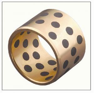 Buy cheap Graphite Lubrication CuZn25AI5Mn4Fe3 VSB-50 Solid Bronze Bushing product