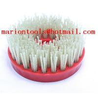Buy cheap 100mm for flex (M14/M16) diamond brush for polishing and grinding stone product