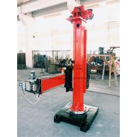 Buy cheap Manual Pipes Column And Boom Welding Manipulators 360°Column Rotate product