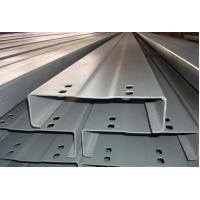 Buy cheap C Z Section Galvanised Steel Purlins Roll-formed From Hi-Tensile Steel Strip product