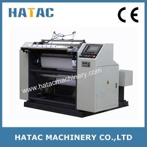 China Computer Paper Roll Slit Rewind Machine,POS Paper Slitting Rewinding Machine,Thermal Paper Roll Making Machine on sale