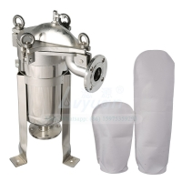 Buy cheap Liquid Filtration SS304 316L Industrial Pp Bag Filter Housings product